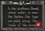 Image of lumber industry United States USA, 1922, second 7 stock footage video 65675063924