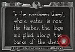 Image of lumber industry United States USA, 1922, second 8 stock footage video 65675063924