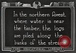 Image of lumber industry United States USA, 1922, second 10 stock footage video 65675063924
