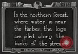 Image of lumber industry United States USA, 1922, second 11 stock footage video 65675063924