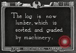 Image of lumber industry United States USA, 1922, second 8 stock footage video 65675063926