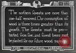 Image of lumber industry United States USA, 1922, second 4 stock footage video 65675063927