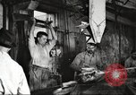 Image of workers in butchery United States USA, 1919, second 3 stock footage video 65675063928