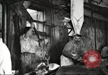 Image of workers in butchery United States USA, 1919, second 6 stock footage video 65675063928