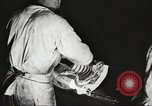 Image of workers in butchery United States USA, 1919, second 12 stock footage video 65675063928