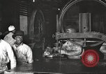 Image of workers in butchery United States USA, 1919, second 11 stock footage video 65675063930