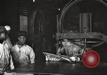 Image of workers in butchery United States USA, 1919, second 12 stock footage video 65675063930