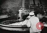 Image of workers in butchery United States USA, 1919, second 2 stock footage video 65675063931