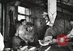 Image of workers in butchery United States USA, 1919, second 3 stock footage video 65675063932
