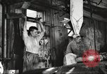 Image of workers in butchery United States USA, 1919, second 5 stock footage video 65675063932