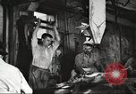 Image of workers in butchery United States USA, 1919, second 7 stock footage video 65675063932