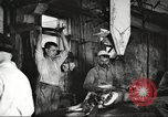 Image of workers in butchery United States USA, 1919, second 10 stock footage video 65675063932