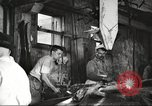 Image of workers in butchery United States USA, 1919, second 11 stock footage video 65675063932