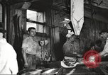 Image of workers in butchery United States USA, 1919, second 12 stock footage video 65675063932