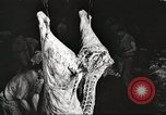 Image of workers in butchery United States USA, 1919, second 5 stock footage video 65675063935