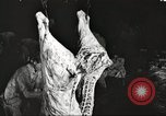 Image of workers in butchery United States USA, 1919, second 6 stock footage video 65675063935