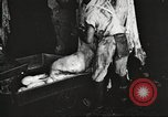 Image of workers in butchery United States USA, 1919, second 12 stock footage video 65675063935