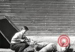 Image of workers in barn United States USA, 1920, second 3 stock footage video 65675063942