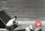 Image of workers in barn United States USA, 1920, second 9 stock footage video 65675063942
