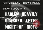 Image of Harlem Riots New York City USA, 1935, second 5 stock footage video 65675063944