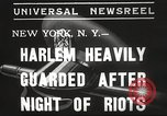 Image of Harlem Riots New York City USA, 1935, second 6 stock footage video 65675063944