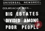 Image of estates distributed in poor Colhuacan Mexico, 1935, second 1 stock footage video 65675063947