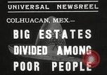 Image of estates distributed in poor Colhuacan Mexico, 1935, second 5 stock footage video 65675063947