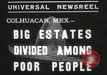 Image of estates distributed in poor Colhuacan Mexico, 1935, second 7 stock footage video 65675063947
