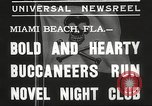 Image of Pirate dinner theater club Miami Beach Florida USA, 1935, second 9 stock footage video 65675063950