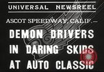 Image of automobile race Los Angeles California USA, 1935, second 6 stock footage video 65675063951