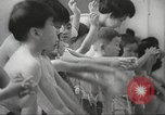 Image of Japanese children swim Tokyo Japan, 1967, second 7 stock footage video 65675063956
