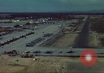 Image of aircraft parked Vietnam, 1965, second 5 stock footage video 65675064022