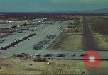 Image of aircraft parked Vietnam, 1965, second 7 stock footage video 65675064022
