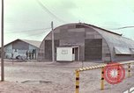 Image of exterior shots of mess facilities Vietnam, 1966, second 6 stock footage video 65675064045