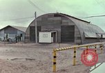 Image of exterior shots of mess facilities Vietnam, 1966, second 12 stock footage video 65675064045