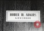 Image of Homer M Adkins Arkansas United States USA, 1942, second 3 stock footage video 65675064140