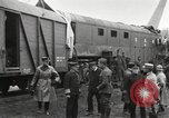Image of Camouflaged 14-inch Naval railway gun France, 1918, second 7 stock footage video 65675064147