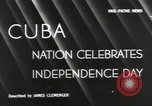 Image of Cuban Independence Day Havana Cuba, 1940, second 2 stock footage video 65675064153