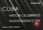 Image of Cuban Independence Day Havana Cuba, 1940, second 3 stock footage video 65675064153