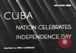 Image of Cuban Independence Day Havana Cuba, 1940, second 4 stock footage video 65675064153