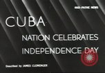 Image of Cuban Independence Day Havana Cuba, 1940, second 5 stock footage video 65675064153
