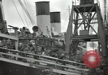 Image of British Expeditionary Force departing via ship France, 1940, second 5 stock footage video 65675064180