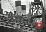 Image of British Expeditionary Force departing via ship France, 1940, second 6 stock footage video 65675064180
