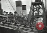 Image of British Expeditionary Force departing via ship France, 1940, second 7 stock footage video 65675064180