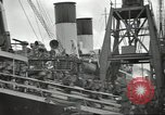 Image of British Expeditionary Force departing via ship France, 1940, second 8 stock footage video 65675064180