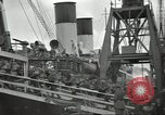 Image of British Expeditionary Force departing via ship France, 1940, second 9 stock footage video 65675064180