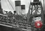 Image of British Expeditionary Force departing via ship France, 1940, second 11 stock footage video 65675064180