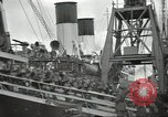 Image of British Expeditionary Force departing via ship France, 1940, second 12 stock footage video 65675064180