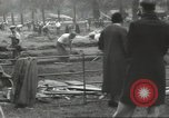 Image of workers dig trench London England United Kingdom, 1938, second 1 stock footage video 65675064221