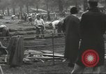 Image of workers dig trench London England United Kingdom, 1938, second 3 stock footage video 65675064221